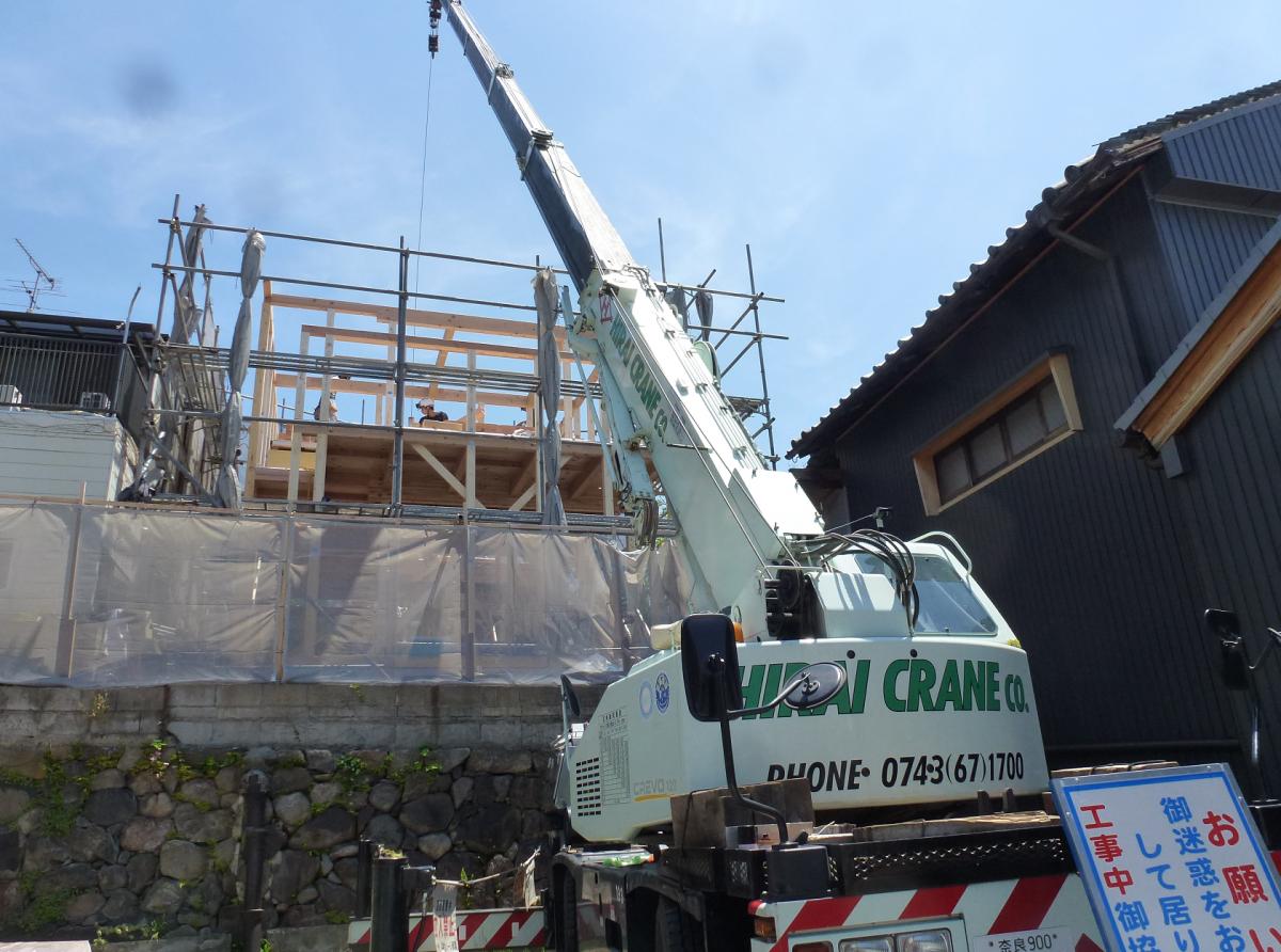 「奈良まちの家」リノベーション工事のお知らせ。