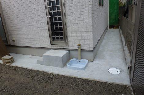 RCでシンプルなお庭