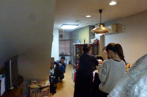 京都左京区の家